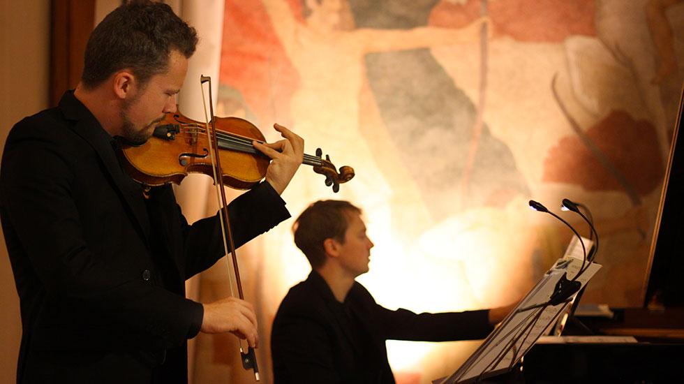 Le duo Léo Marillier et Clément Lefebvre au Festival Inventio