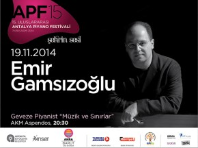 Emir Gamsizoglu in International Antalya Piano Festival