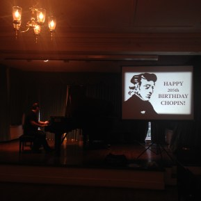 Chopin's BDay, 2015 - Greenwich House