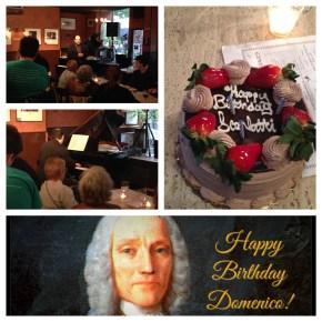 Scarlatti's b-day party - 2014
