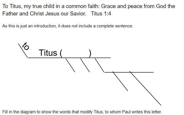 Helps for diagramming scripture classical but relevant ccuart Images