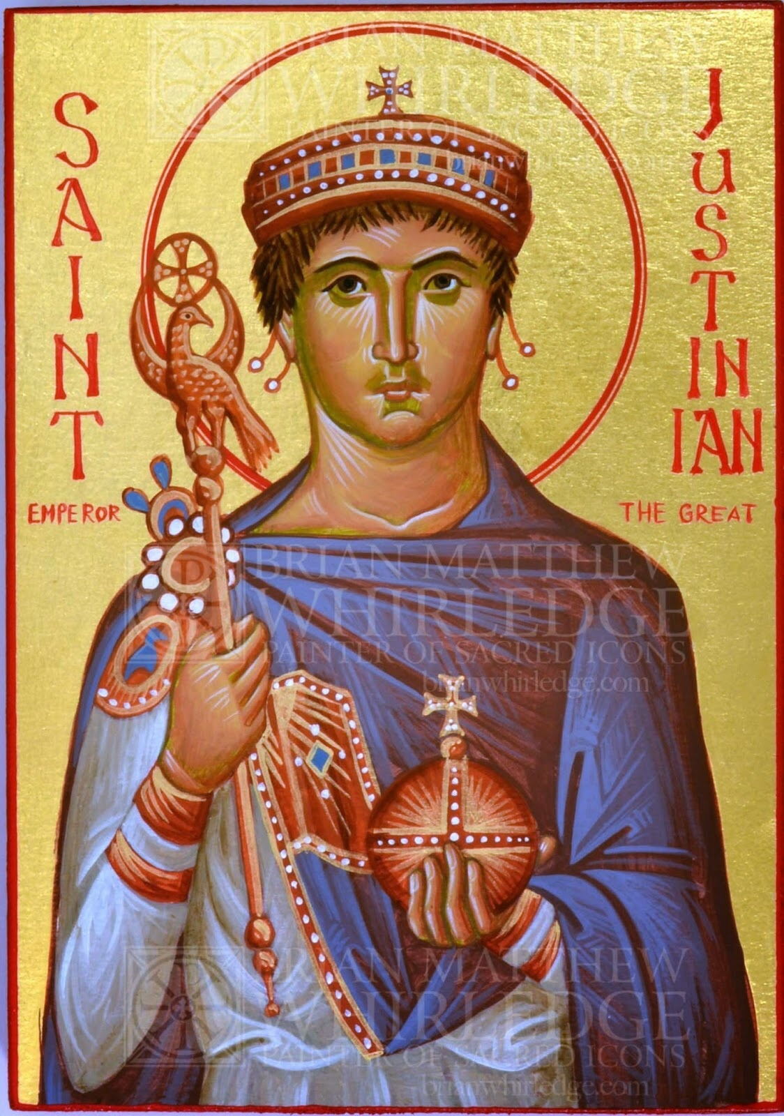 St. Justinian the Emperor ca. 483-565 — Classical Christianity