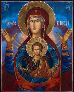 icon from Mount Tabor Studios, Raymond Vincent