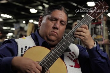 Gabriel Ayala Classical Guitar Session NAMM 2016