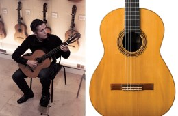 Harris Collection Guitars, Nathan Martinez plays the Masaru Kohno 1976 and the 1930 Santos Hernández guitar