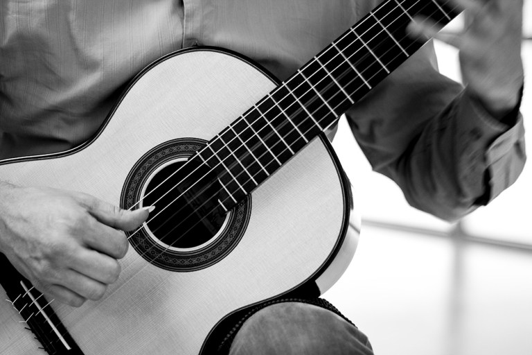 classical guitar photo