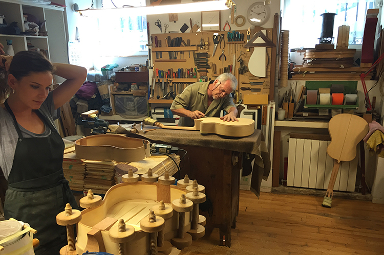 The Guitar Makers Of Madrid Classical Guitar