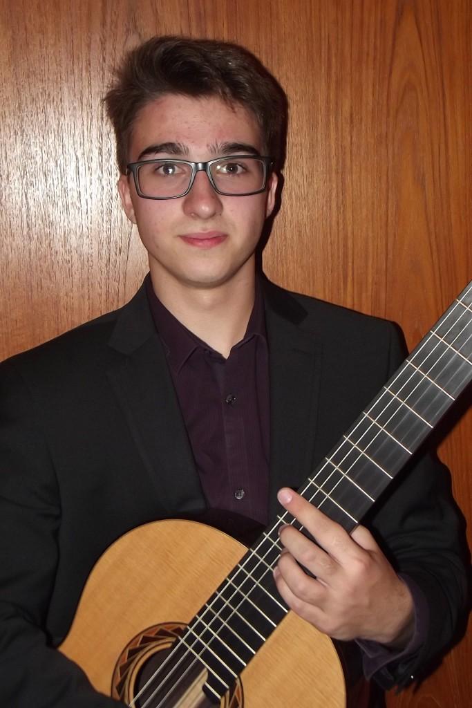 Georgi Dimitrov, winner of the age 14-16 group
