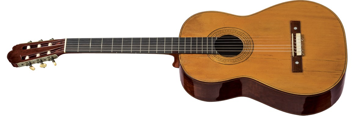 1888 rosewood-bodied Torres owned by Tárrega Classical Guitar Magazine Sheldon Urlik A Collection of Fine Spanish Guitars from Torres to the Present