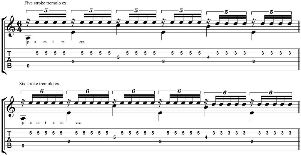 Classical Guitar Lesson Tarrega Recuerdos de la Alhambra Micro Studio Supplement