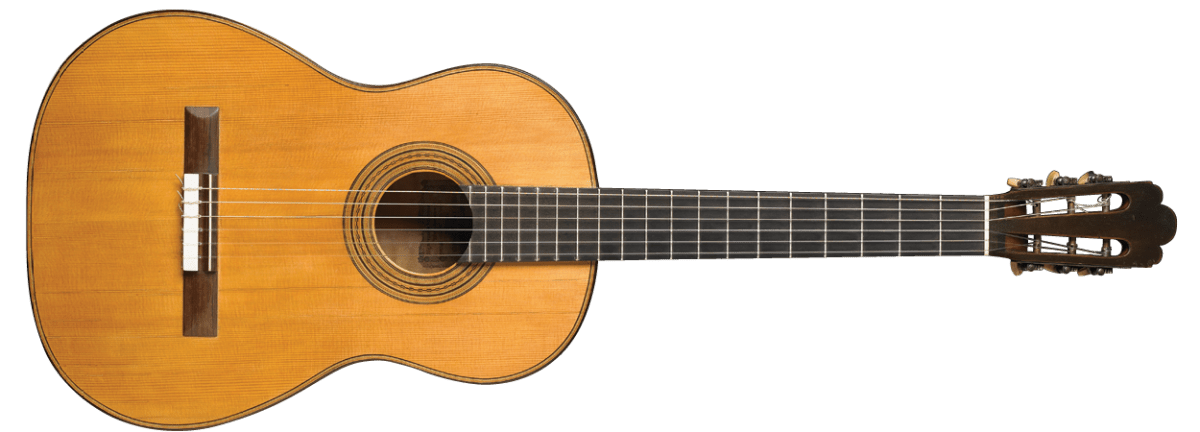 Antonio de Torres 1888 Guitar Harris Collection