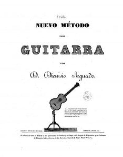neuvo metodo guitarra d dionoso aguado