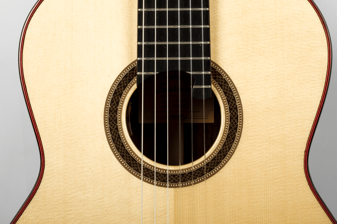 Eastman Classical Guitar Review CL81S nylon guitar soundhole rosette