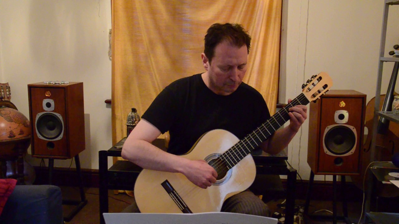 Music to Play: 'Prelude No  4' by Blue Yates – Classical Guitar