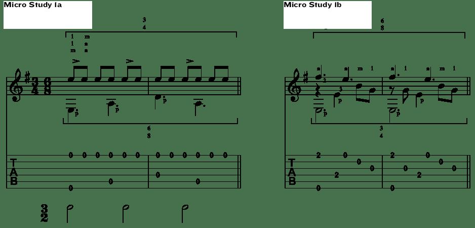 Classical Guitar Antonio Lauro Micro Study 1