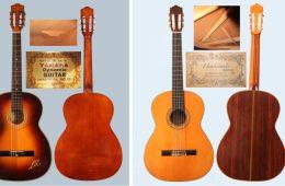 yamaha hasimoto vintage japanese classical guitars
