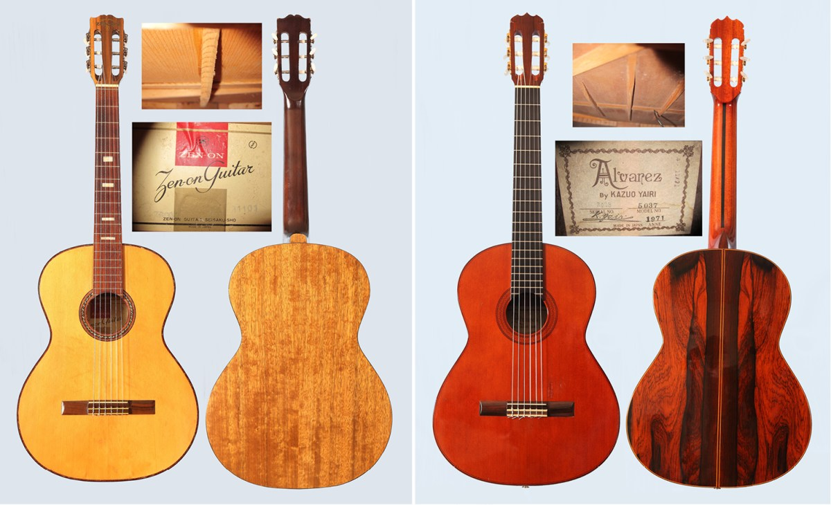Fretwork: A Look at Vintage Japanese Classical Guitars – Classical
