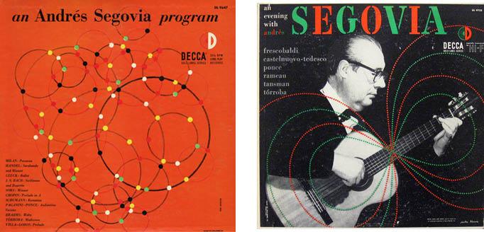 segovia decca 9647 and 9733