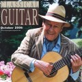 Classical Guitar magazine cover October 2006 Julian Bream