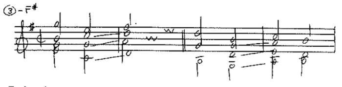 classical guitar forbidden fifths ex 4