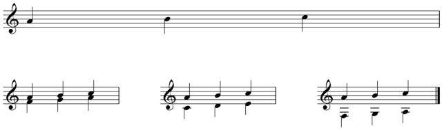 Coventry Carol - Harmonisation Step 6