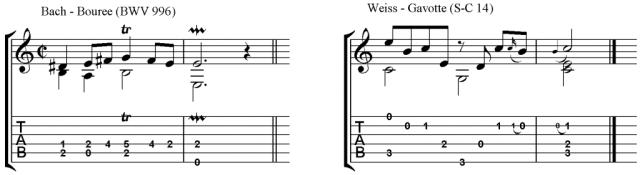 Cadences examples 2