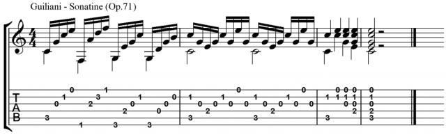 Cadences example 3