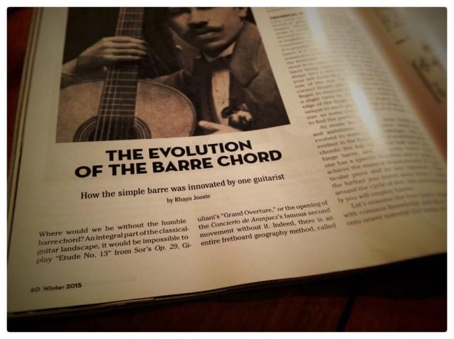 Classical Guitar Magazine a