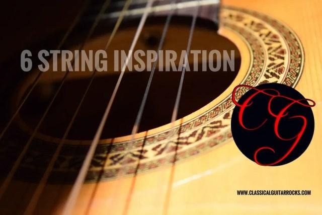 #6stringinspiration classical guitar rocks lesson