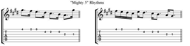 Villa Lobos Micro study 1 Skip rhythms