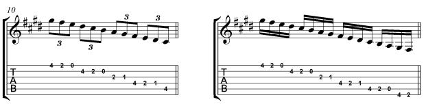 Villa Lobos Micro study 1 Straight rhythms