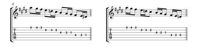 VillaLobos Micro study 1b Skip rhythms