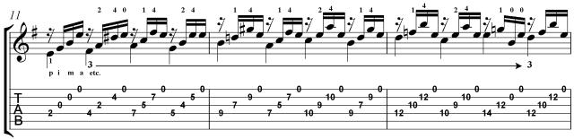 Learn prelude 4 villa-lobos classical guitar lesson