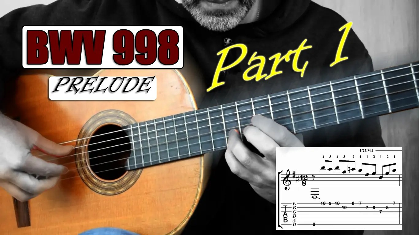 Bach Prelude BWV 998 Lesson