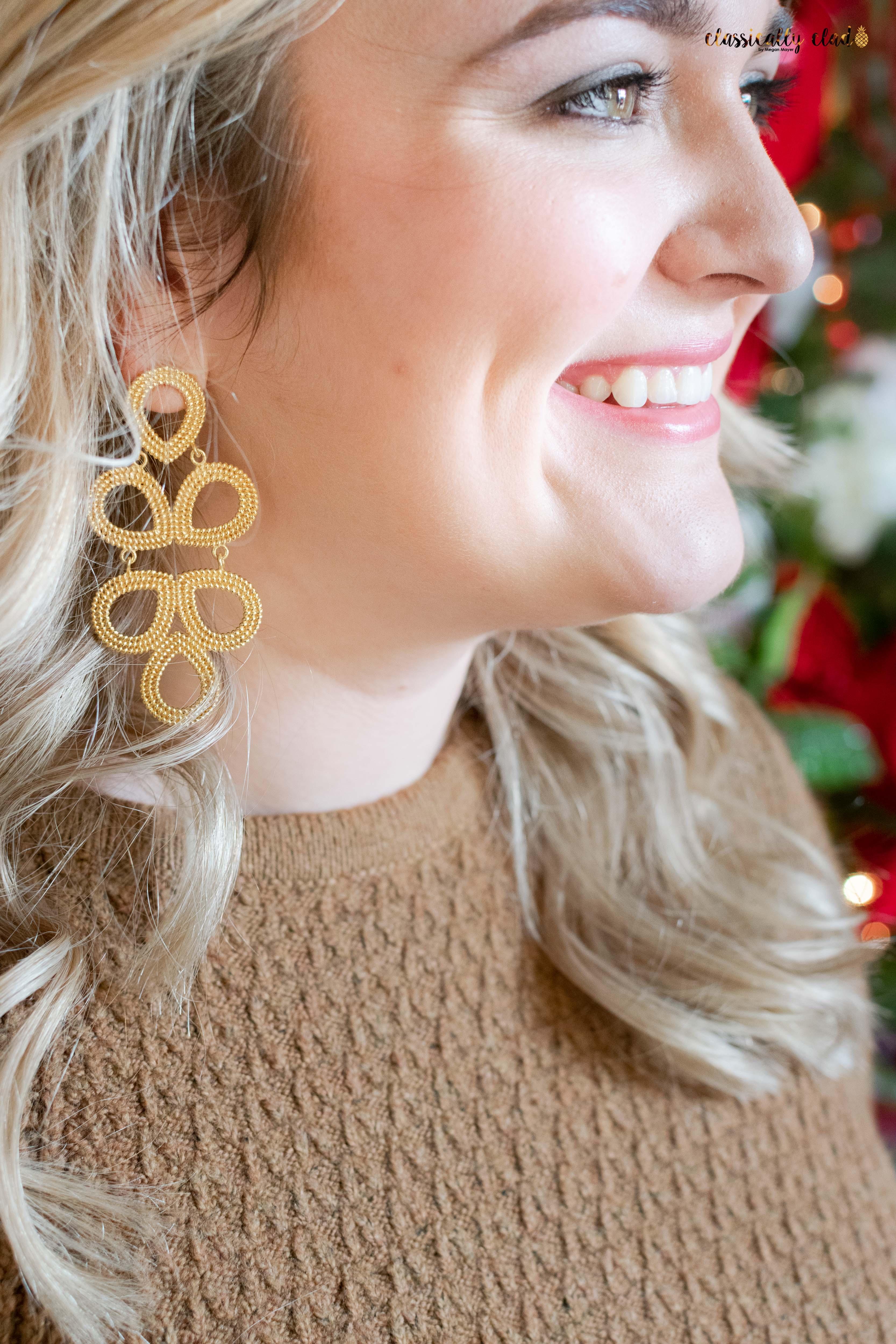 GINGER - GOLD Earring