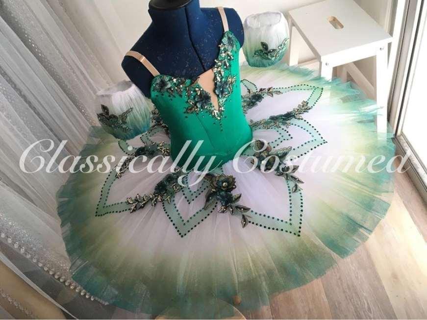 Emerald Green stretch tutu
