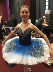 Classical Ballet Tutu - non stretch tutu - Navy Blue