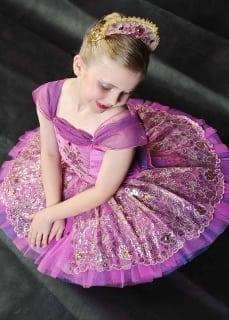 Classical Ballet tutu - stretch tutu - fushia
