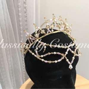 Custom Headpiece Antoinette Style