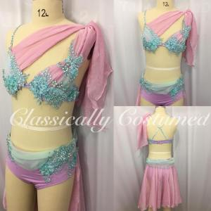 Lyrical Dance Costume, competition dance costume,