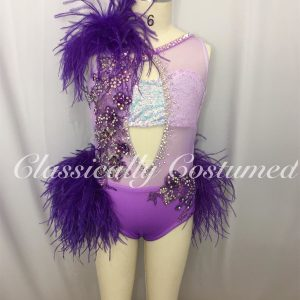 Purple Ombre Dance Costume