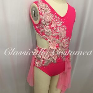 Watermelon and Pink Lyrical Dance Costume
