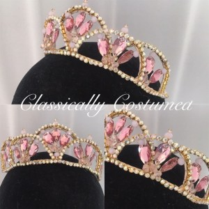 Sophie Classical Ballet Tiara made to order