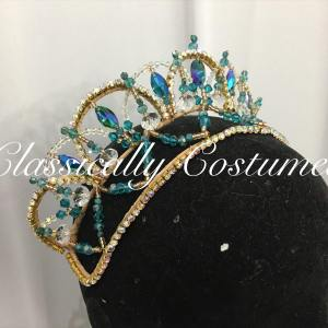 Alannah Classical Ballet Tiara Headpiece made to order
