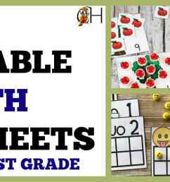Free Printable Math Worksheets for Preschool – 1st Grade – Classically  Homeschooling [ 630 x 1702 Pixel ]