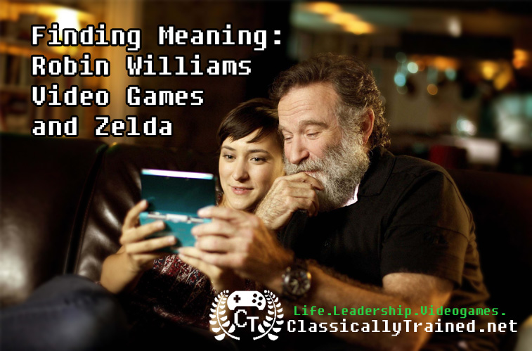 robin williams video games zelda