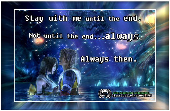 Video Game Quotes: Final Fantasy X On Love ...