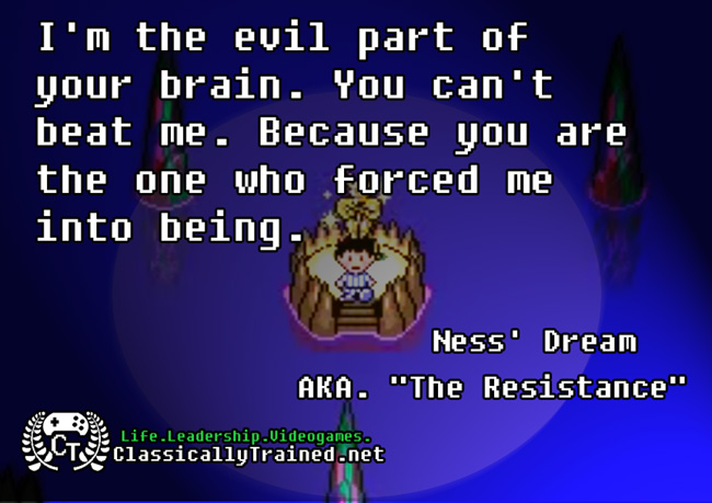 Video Game Quotes Earthbound On Self Talk Classicallytrained