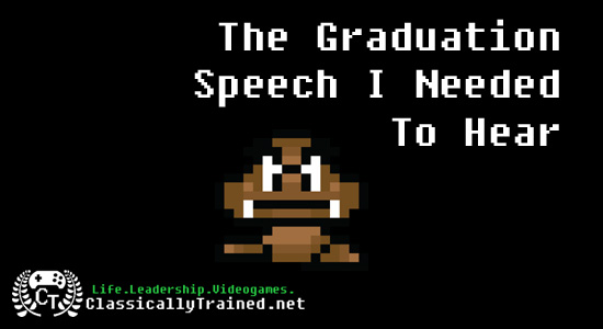 graduation speech video games commencement