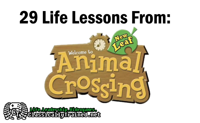 29 life lessons from Animal Crossing